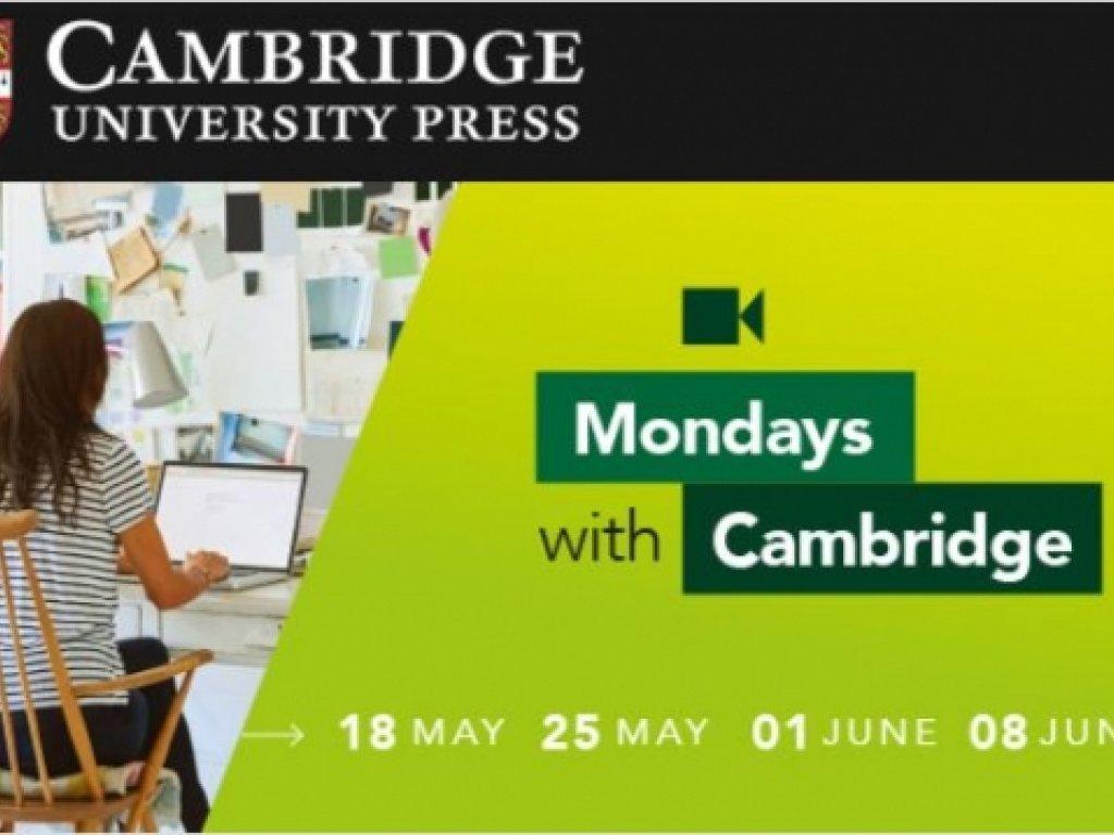 Mondays with Cambridge - gli appuntamenti con la formazione da non perdere!
